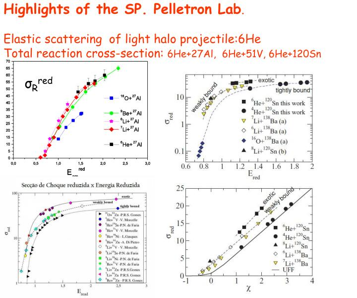Highlights of the SP. Pelletron Lab