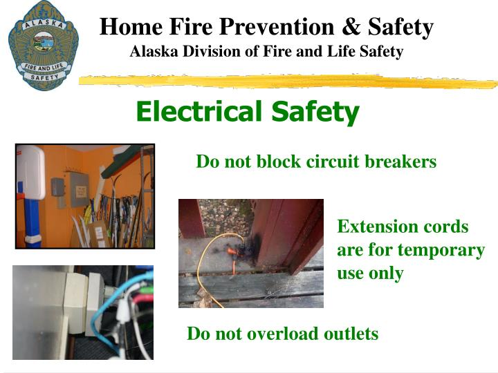 Home Fire Prevention & Safety