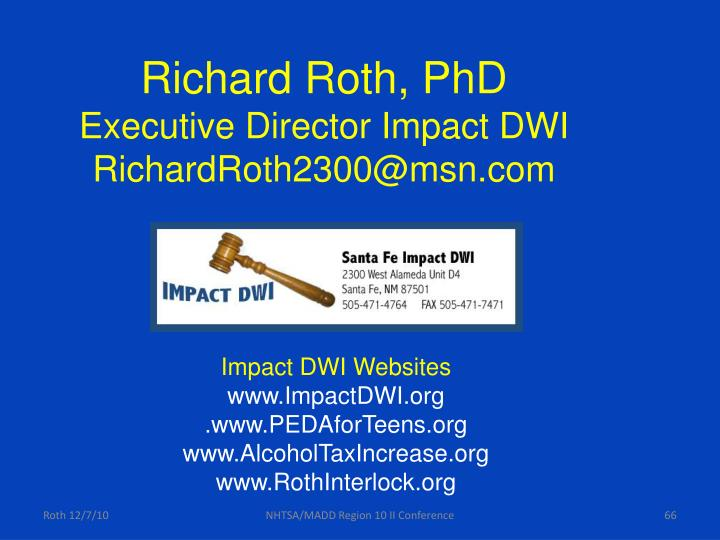 Richard Roth, PhD