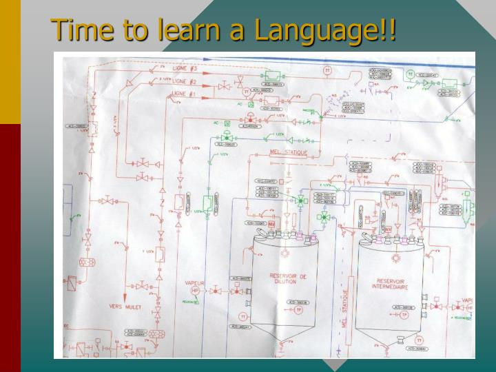 Time to learn a Language!!
