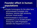 founder effect in human populations2