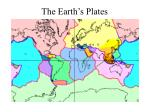 the earth s plates
