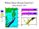 where does ocean crust go