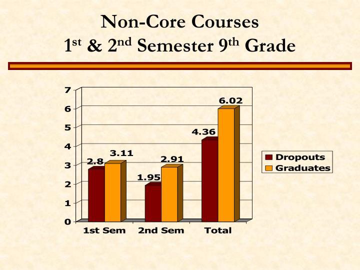 Non-Core Courses