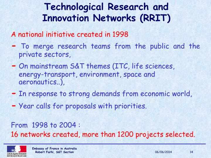Technological Research and