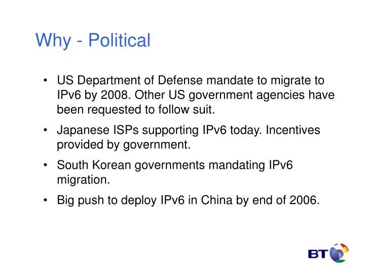 Why - Political