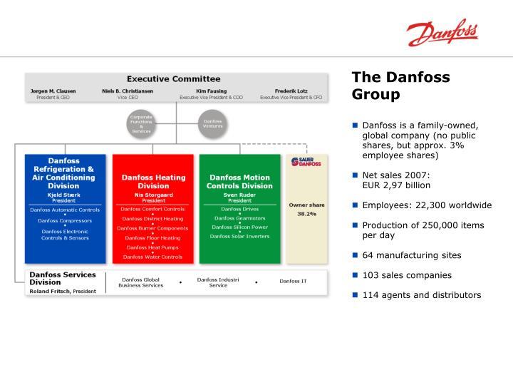 The danfoss group