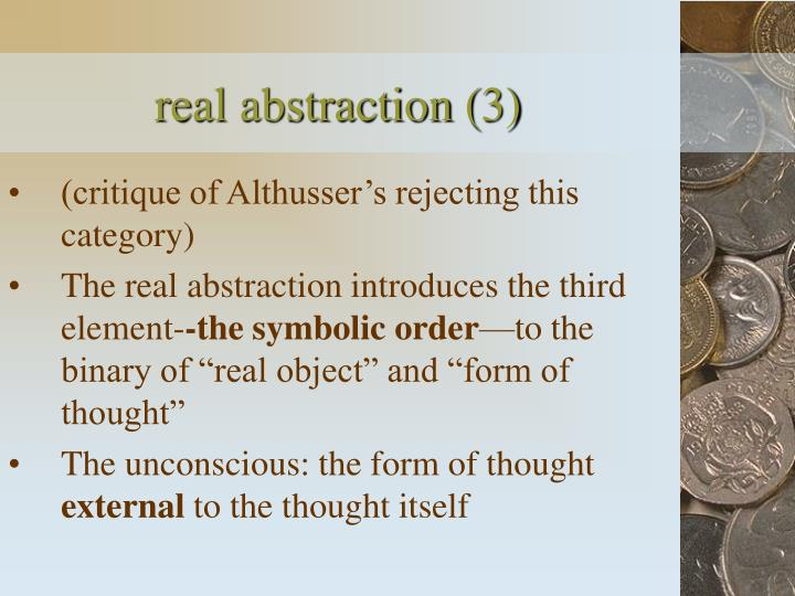 real abstraction (3)