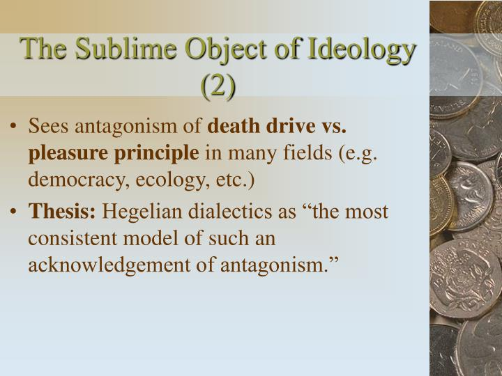 The Sublime Object of Ideology (2)