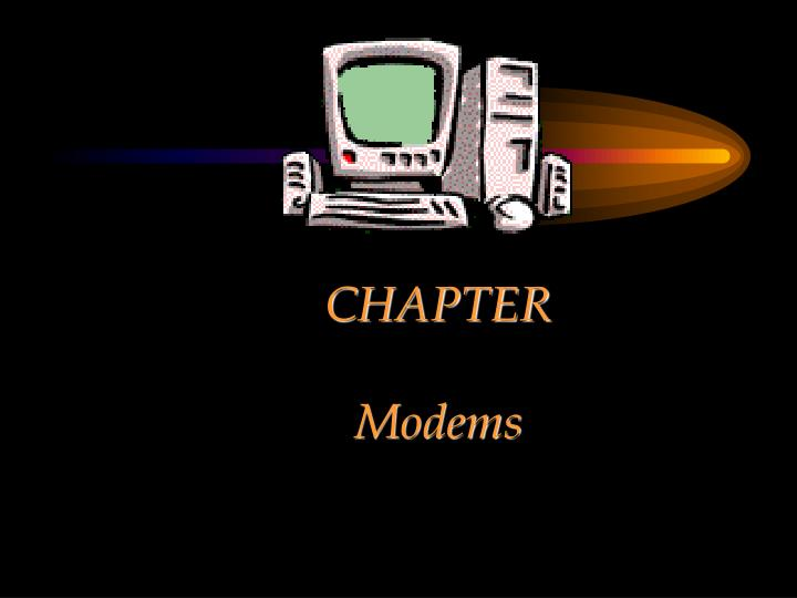 chapter modems n.