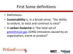 first some definitions