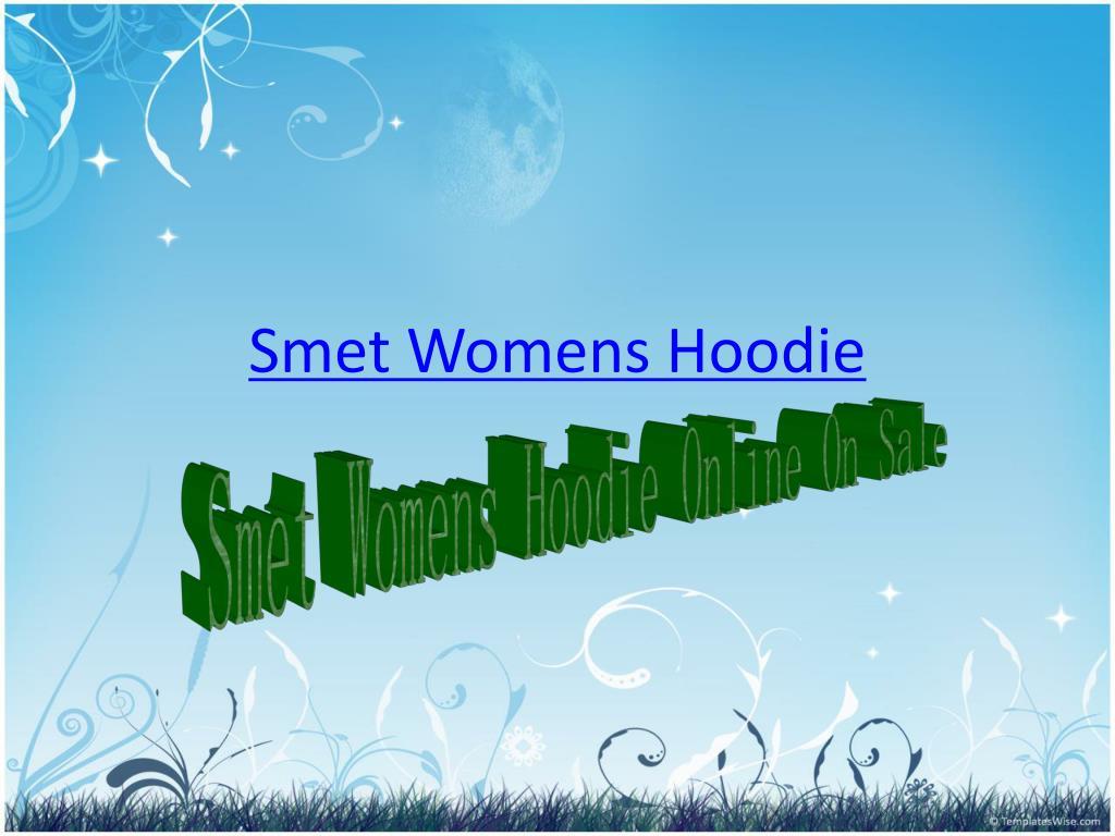 smet womens hoodie l.