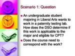 scenario 1 question