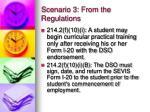 scenario 3 from the regulations