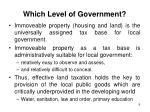 which level of government