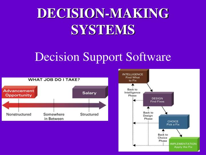 decision support software n.