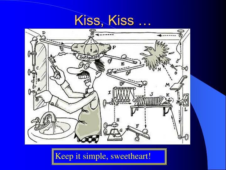 Kiss, Kiss …