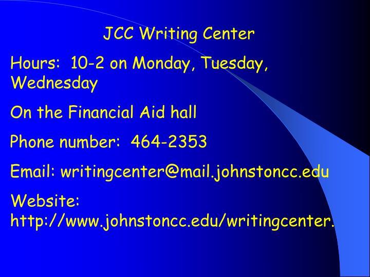 JCC Writing Center