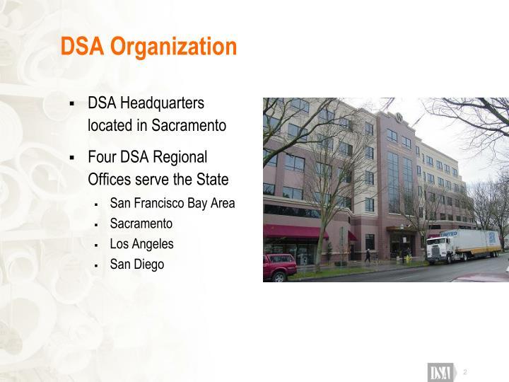 Dsa organization