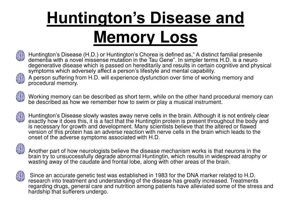 direct path huntingtons disease - HD 1024×768