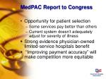 medpac report to congress