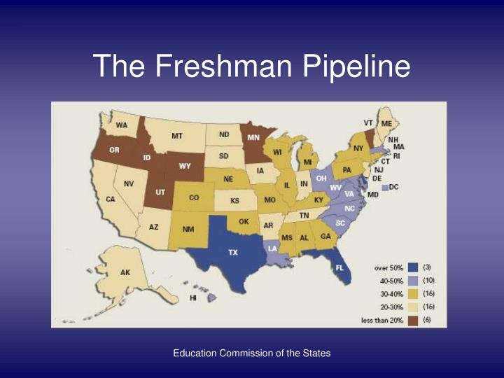 The Freshman Pipeline