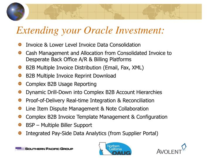 Extending your Oracle Investment: