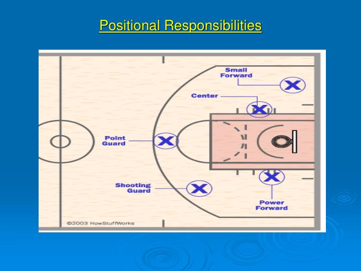 Positional Responsibilities