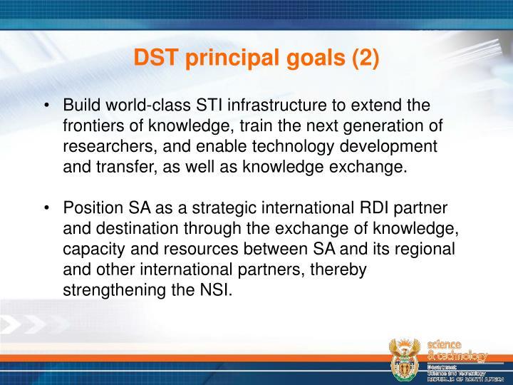 DST principal goals (2)