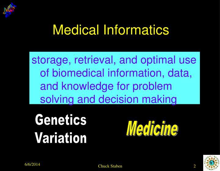 Medical informatics1