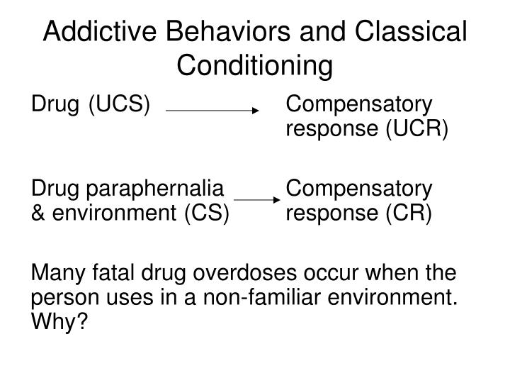 Addictive Behaviors and Classical Conditioning
