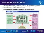 how banks make a profit