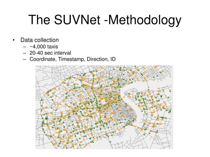The SUVNet -Methodology