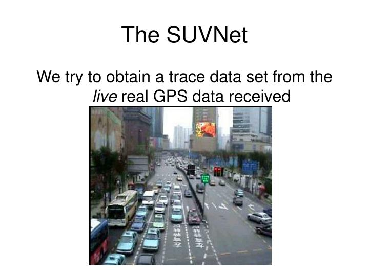 The SUVNet