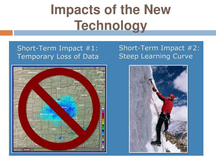 Impacts of the New Technology