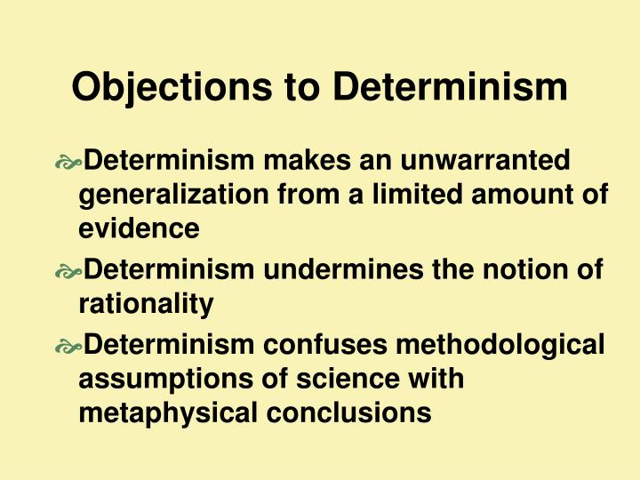 Objections to Determinism