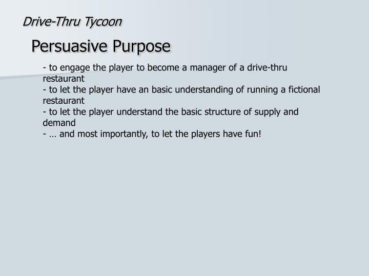 Drive thru tycoon1