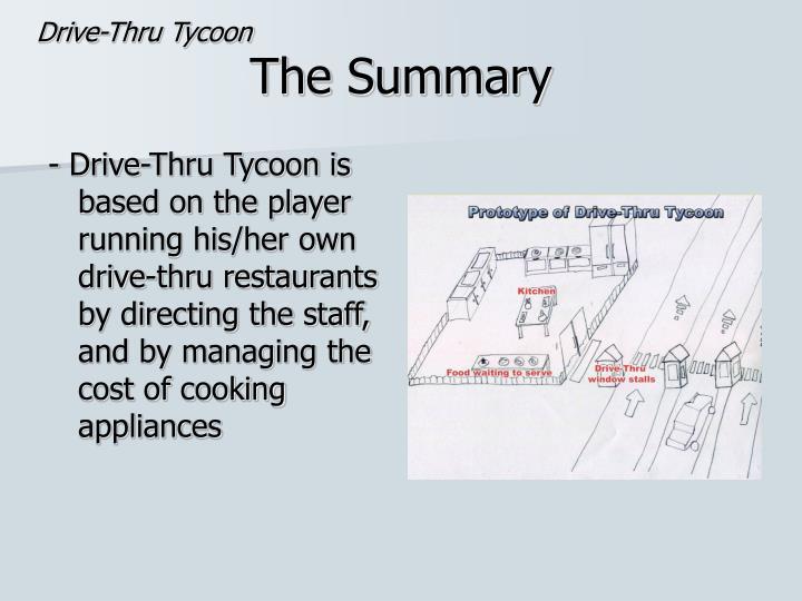 Drive-Thru Tycoon