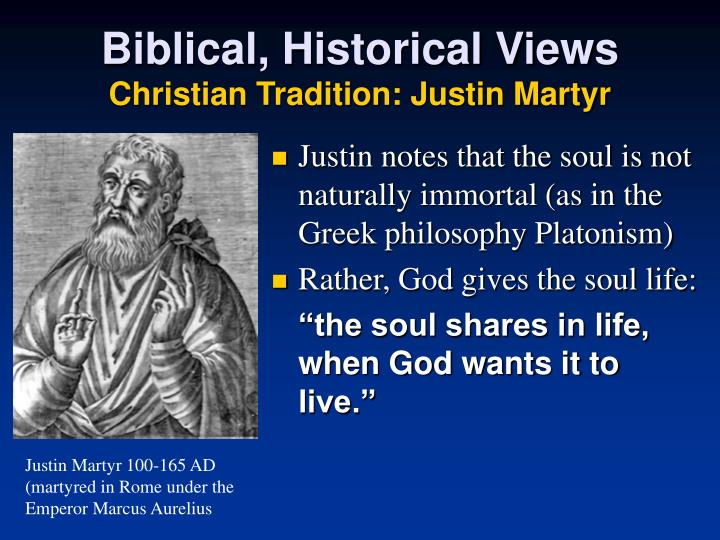 Biblical, Historical Views