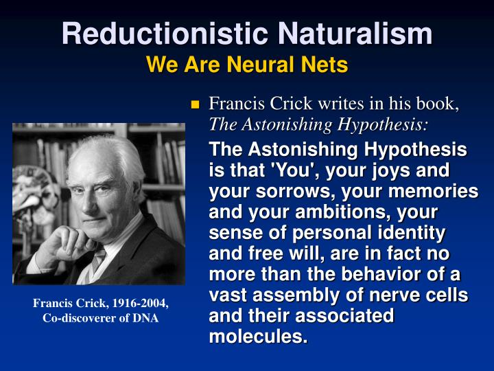 Reductionistic Naturalism