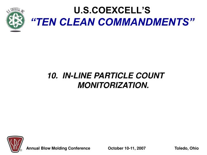 U.S.COEXCELL'S