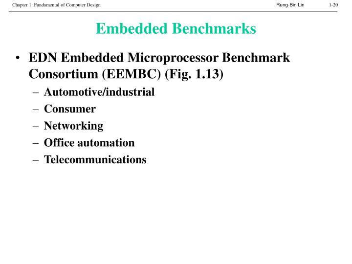 Embedded Benchmarks