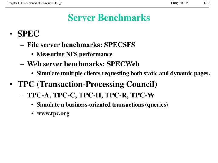 Server Benchmarks