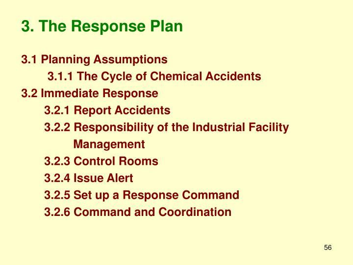 3. The Response Plan