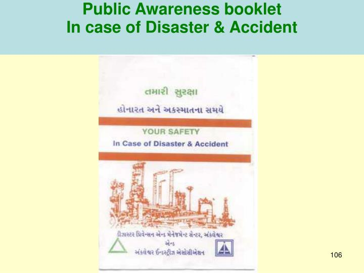 Public Awareness booklet