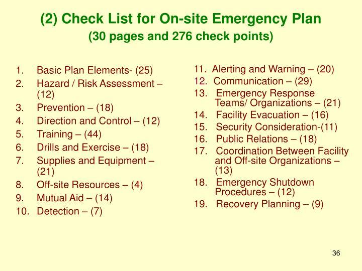 Basic Plan Elements- (25)