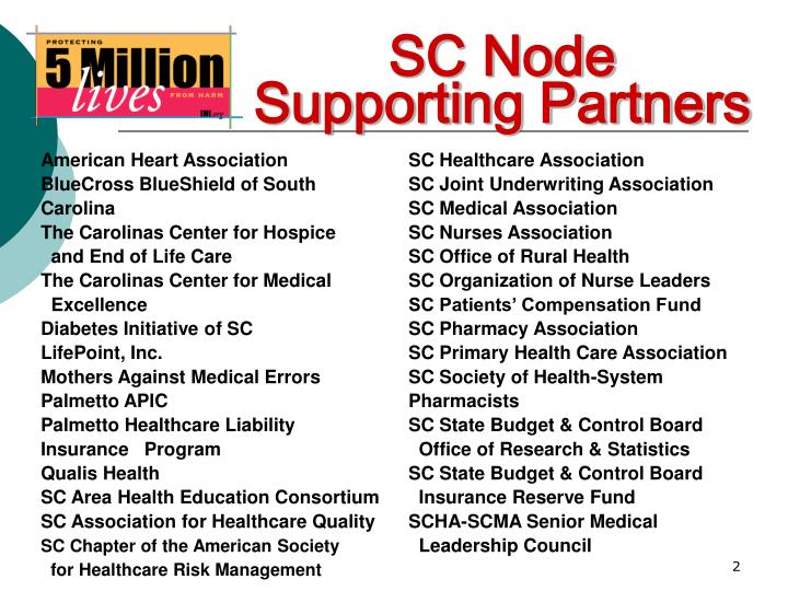 SC Node Supporting Partners