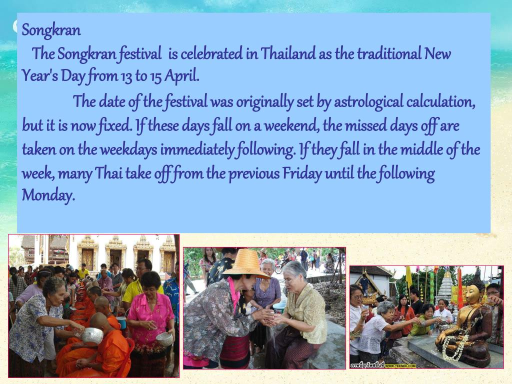 PPT - THAILAND CULTURE PowerPoint Presentation - ID:1286129