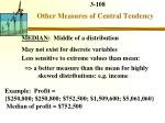 other measures of central tendency1