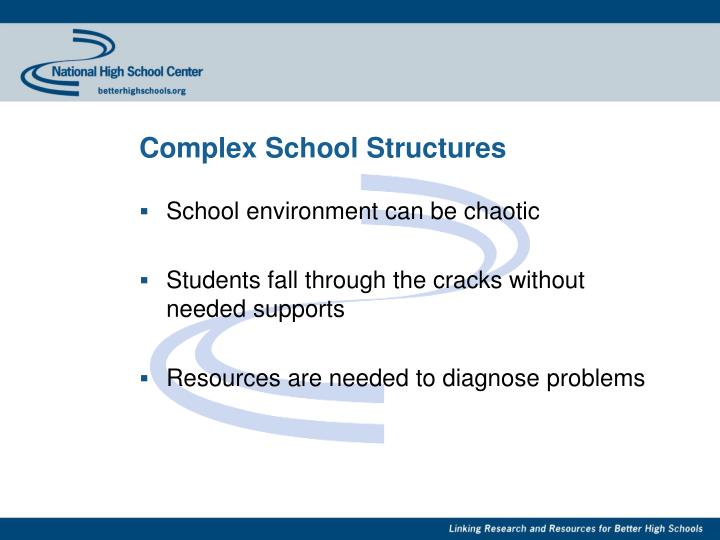 Complex School Structures